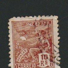 Sellos: BRASIL.1931.- 10 RS.YVERT 211.USADO.. Lote 79349253
