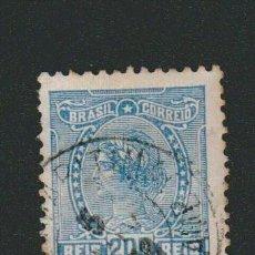 Sellos: BRASIL.1918-19.- 200 RS.YVERT 156.USADO.. Lote 79350109
