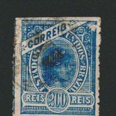 Sellos: BRASIL.1900.- 200 RS.YVERT 118.USADO.. Lote 79553197