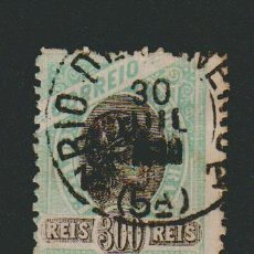 Sellos: BRASIL.1894.- 300 RS.YVERT 84.USADO.. Lote 79553321