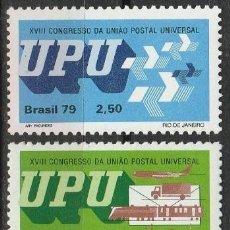 Sellos: BRASIL. 1979.U.P.U. SERIE. **MNH. Lote 86187936