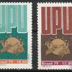 Sellos: BRASIL. 1979.U.P.U. SERIE. **MNH. Lote 86188080
