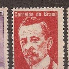 Sellos: BRASIL ** & CENTENARIO DEL NACIMIENTO DE LAURO MÜLLER, POLÍTICO Y HOMBRE DE ESTADO 1964 (752). Lote 89178212