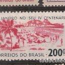 Sellos: BRASIL ** & IV CENTENÁRIO DA CIDADE DO RIO DE JANEIRO 1964 (759). Lote 168743489