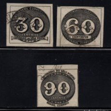 Sellos: BRASIL 407/09 - AÑO 1943 - CENTENARIO DEL SELLO DE BRASIL. Lote 89623068