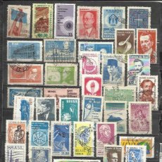 Sellos: G164A-LOTE ANTIGUOS SELLOS Y MODERNOS BRASIL,SIN TASAR,LOS DE LA IMAGEN,VEA,LEA.BUENOS.AMERICA SUR *. Lote 91375465