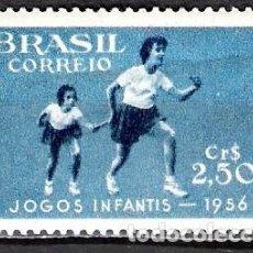 Sellos: BRASIL 1956 - NUEVO. Lote 98860467