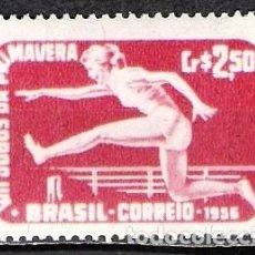 Sellos: BRASIL 1956 - NUEVO. Lote 98860567