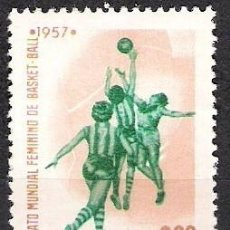 Sellos: BRASIL 1957 - NUEVO. Lote 98861367