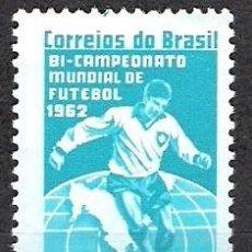 Sellos: BRASIL 1963 - NUEVO. Lote 98863775