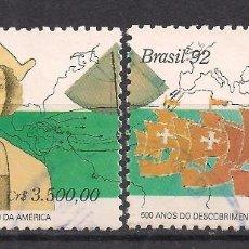 Sellos: BRASIL 1992 - USADO. Lote 98864891