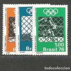 Sellos: BRASIL YVERT NUM. 1192/1194 ** SERIE COMPLETA SIN FIJASELLOS. Lote 253181995