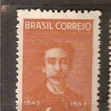 Sellos: BRASIL * &100 AÑOS DEL PINTOR, NACIMIENTO DE PEDRO AMERICO 1943 (415). Lote 105684047