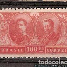 Sellos: BRASIL * & VISITA DEL REY BELGA, ALBERTO AO BRASIL 1920 (182). Lote 105687579