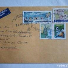 Sellos: CARTA DO BRASIL PARA PORTUGAL. Lote 112835851
