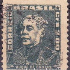 Francobolli: 1954-56 - BRASIL - DUQUE DE CAXIAS - YVERT 584A. Lote 116053731