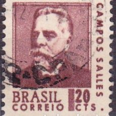 Francobolli: 1968 - BRASIL - CAMPOS SALLES - YVERT 843. Lote 116054059