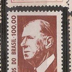 Sellos: BRASIL * & VISITA DEL PRESIDENTE DE FRANCIA, CHARLES DE GAULLE 1964 (763). Lote 118139375