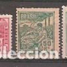 Sellos: BRASIL ** & SERIE ALEGÓRICA, INDUSTRIA 1920-41 (167). Lote 118556803