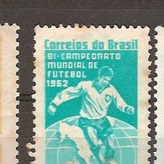 Sellos: BRASIL ** & VII COPA DEL MUNDO DE FÚTBOL, CHILE 1962 (726). Lote 118558775