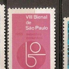 Sellos: BRASIL ** & VIII BIENAL DE ARTES DE BRASIL, SÃO PAULO 1965 (782) . Lote 118561015