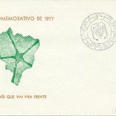 Sellos: 1977. MATASELLOS/POSTMARK. BODAS DE PLATA FACULTAD DE DERECHO UNIVERSIDAD BAURU - SAO PAULO. LAW.. Lote 121447447