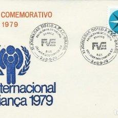 Sellos: 1979. SAO JOSE DOS CAMPOS. MATASELLOS/POSTMARK. XI JORNADAS DOIID.A.E.A.C. FACULTAD DE DERECHO. LAW.. Lote 121447875