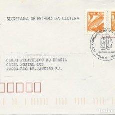 Sellos: 1981. BRASIL/BRAZIL SAO PAULO. MATASELLOS/POSTMARK. CONGRESO MUNDIAL DE DERECHO. WORLD LAW CONGRESS.. Lote 121448771