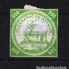 Sellos: BRASIL 1873 TELEGRAFOS USADO. Lote 121648191