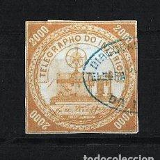 Sellos: BRASIL 1873 TELEGRAFOS USADO. Lote 121648339