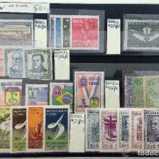 Sellos: BRASIL.FICHA CON SERIES COMPLETAS .MUY BUENA OFERTA.. Lote 135120798