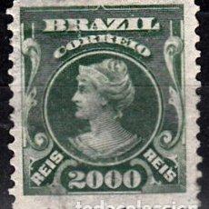 Sellos: BRASIL, YVERT 139. NUEVO CON FIJASELLOS.. Lote 140627650
