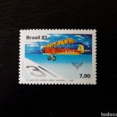 Sellos: BRASIL. YVERT 1479. SERIE COMPLETA NUEVA SIN CHARNELA. AVIONES. AVIACIÓN. Lote 142947156