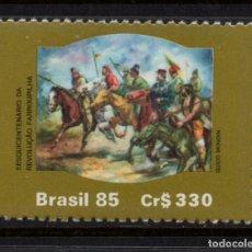 Sellos: BRASIL 1762** - AÑO 1985 - 150º ANIVERSARIO DE LA REVOLUCION FARROUPILHA. Lote 143163666