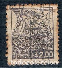 SELLO USADO BRASIL 1941 MI 566 (Sellos - Extranjero - América - Brasil)
