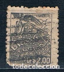 SELLO USADO BRASIL 1941 YMI 566 (Sellos - Extranjero - América - Brasil)