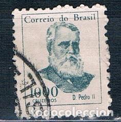 SELLO USADO BRASIL 1866 YVES 793 (Sellos - Extranjero - América - Brasil)