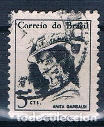 SELLO USADO BRASIL 1967 YVES 818 (Sellos - Extranjero - América - Brasil)