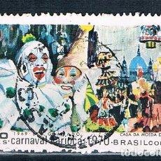 Selos: SELLO USADO BRASIL 1969 YVES 920 BONITO MATASELLOS. Lote 144252278