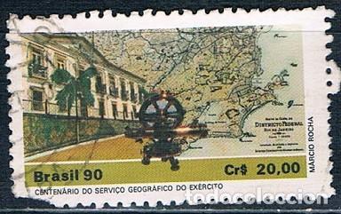 SELLO USADO BRASIL 1990 YVES1968 (Sellos - Extranjero - América - Brasil)