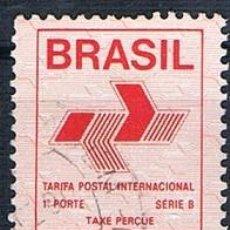 Sellos: SELLO USADO BRASIL TARIFA POSTAL 1989. Lote 144255990