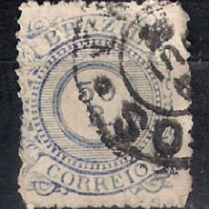 Sellos: BRASIL 1887 # 93 50R CHALKY BLUE USED - 4/40. Lote 147917938