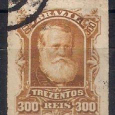 Sellos: BRASIL 1878-79 # 75 300R BISTER USED - 4/40. Lote 147917998