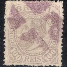 Sellos: BRASIL 1884-85 # 90 100R LILAC USED - 4/40. Lote 147918874
