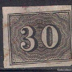 Sellos: BRASIL 1850 # 23 30R BLACK USED - 4/40. Lote 147919582