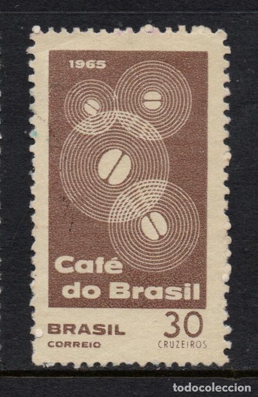 BRASIL 790** - AÑO 1965 - CAFE DE BRASIL (Sellos - Extranjero - América - Brasil)