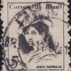 Francobolli: 1967 - BRASIL - MUJERES CELEBRES - ANITA GARIBALDI - YVERT 818. Lote 150822578