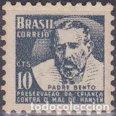 Francobolli: 1963 - BRASIL - CELEBRIDADES - PADRE BENTO - CAMPAÑA CONTRA LA LEPRA - YVERT 746. Lote 150825978
