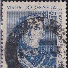 Francobolli: 1957 - BRASIL - GENERAL CRAVEIRO LOPES - YVERT 630. Lote 150869578