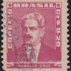 Francobolli: 1954-56 - BRASIL - OSWALDO CRUZ - YVERT 578. Lote 150877506